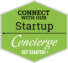 Connect with our Startup Concierge. Get Started!