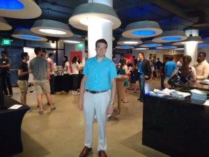 Andras at the BIG3 Tech Startup Conference